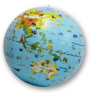 BORELLA pallone gonfiabile globo animali 50 cm 039it.cly gioco