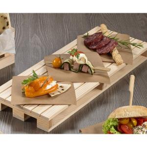 LEONE HORECA bancalino in abetecm.35x20x3.5 s0202 accessorio cucina
