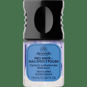 ALESSANDRO INTERNATIONAL pro white nail effect polish manicure 10ml