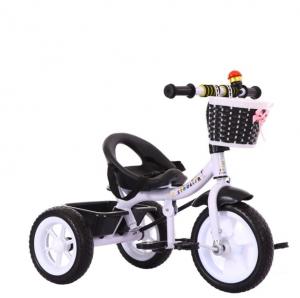 Triciclo con/senza moniglione per la guida genitore- NERO