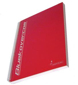 BLUEKOVER.COM Set 3 Confezioni Maxi Spirale Bluekover A4 5 mm Con Fori 699