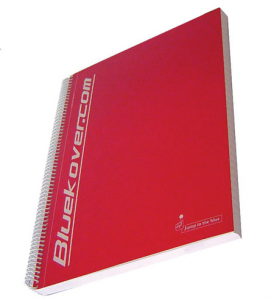 BLUEKOVER.COM Set 3 Confezioni Maxi Spirale Bluekover A4 1 Rigo Senza Fori 699
