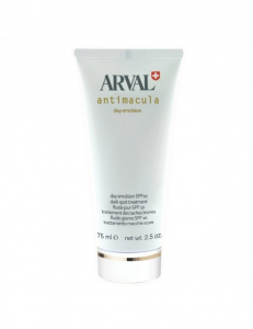ARVAL emulsione fluido giorno spf10 trattamento macchie scure 75ml