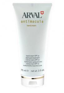 ARVAL antimacula crema mani spf 10 trattamento macchie scure 75ml