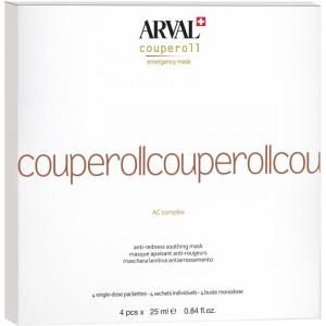 ARVAL couperoll emergency maschera lenitiva antiarrossamento 4 pezzi x 25ml