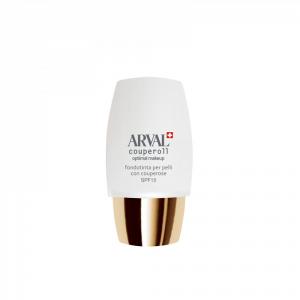 ARVAL makeup fondotinta per pelli con couperose spf 15 04 Miele