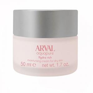 ARVAL aquapure hydra rich per pelli secche crema 24 H 50ml