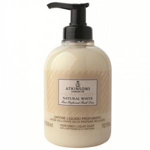 ATKINSONS atkinsons sapone liquido natural white 300 ml cura della persona