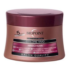 BIOPOINT Professional - Maschera Colore Vivo 250 Ml Prodotti Per Capelli