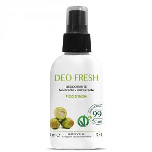AMOVITA deodoranti fresh deodorante fico d'india Protettivo, rinfrescante. 100ml
