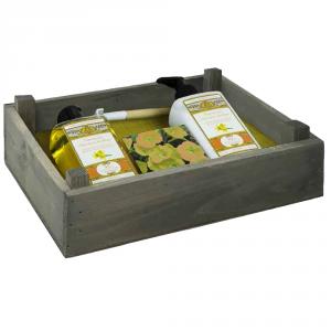 AMOVITA garden kit narciso bagno doccia+crema corpo+semi+zappetta 300+300ml