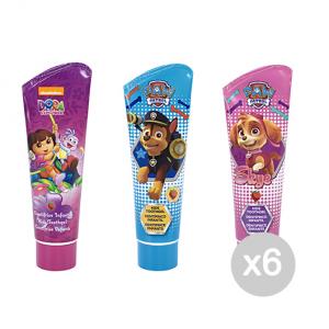 Set 6 AIR-VAL Paw Patrol Dentifricio Bimba 75 Ml Idea Regalo Per Bambini