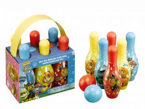 AIR-VAL Paw patrol bowling set bagnoschiuma e shampoo 6x100 ml per bambini