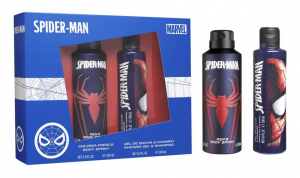 AIR-VAL Cofanetto spiderman colonia spray corpo+gel doccia shampoo 2in1