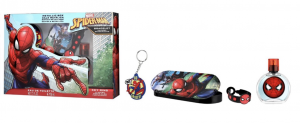 AIR-VAL Spiderman Set Eau De Toilette + Garde + Bracelet + Porte-clés 100 ml