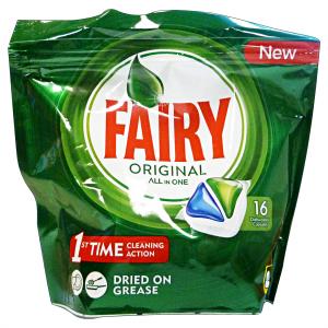 FAIRY Lavastoviglie 16 original prodotto detergente per la cucina