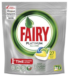FAIRY Lavastoviglie 27 platinum limone prodotto detergente per la cucina