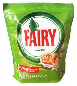 FAIRY Lavastoviglie 31 all in one orange prodotto detergente