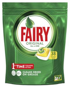 FAIRY Lavastoviglie 38 original limone prodotto detergente per la cucina
