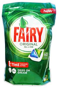 FAIRY Lavastoviglie 60 all in one prodotto detergente per la cucina