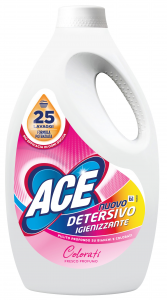 ACE Washing machine Liquid 25 Measurers Sanitizing Colored Detergent For laundry