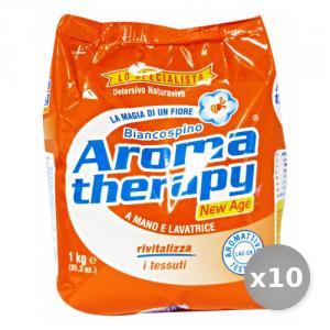 Set 10 BIANCOSPINO Lavatrice 1 kg Aroma Therapy Detergenti Casa
