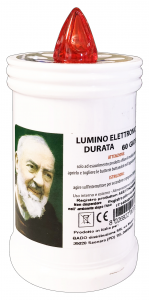 BADO Lumino Elettrico Bianco Cerino