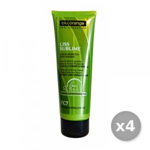 Set 4 BLU ORANGE Liss Sublime Crema Termo-protettiva 125 ml Prodotti Per capelli