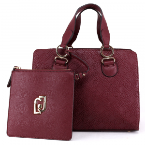 Hand and shoulder bag Liu Jo CREATIVA N69069 E0054 RUBY WINE