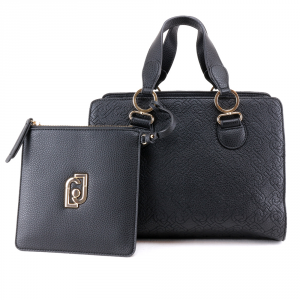 Hand and shoulder bag Liu Jo CREATIVA N69069 E0054 NERO