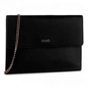 Shoulder bag Liu Jo ISOLA N69023 E0033 NERO+GOLD+NUEZ