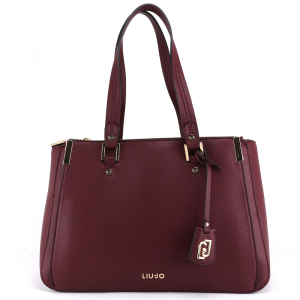 Hand and shoulder bag Liu Jo ISOLA N69012 E0033 RUBY WINE