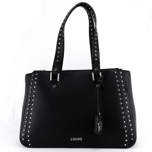 Hand and shoulder bag Liu Jo ISOLA N69012 E0031 NERO