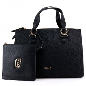 Hand and shoulder bag Liu Jo CREATIVA N69064 E0054 NERO