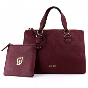 Hand and shoulder bag Liu Jo CREATIVA N69064 E0054 RUBY WINE