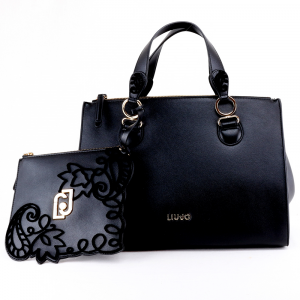 Hand and shoulder bag Liu Jo CREATIVA N69064 E0002 NERO