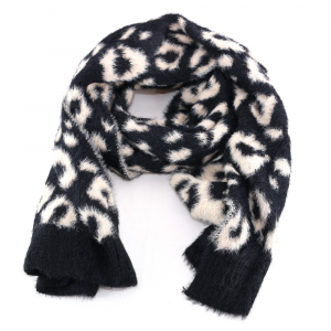 Scarf and hat Liu Jo ANIMALIER 369054 M0300 SOIA