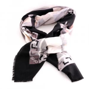 Headscarf Liu Jo LOGO 369085 T0300 NERO