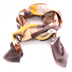 Headscarf Liu Jo LOGO 369085 T0300 MORO LIGHT