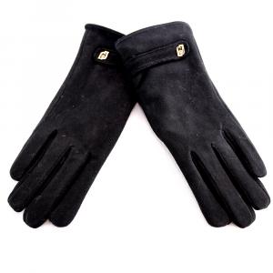 Gloves Liu Jo SUEDE 369096 P0021 NERO