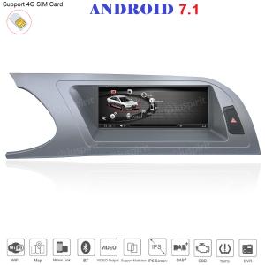 ANDROID 8.8 pollici navigatore per Audi A4/RS4/8K/B8/8T/4L 2008-2012 GPS WI-FI Bluetooth MirrorLink 4GB RAM 32GB ROM 4G LTE