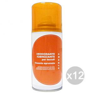 Set 12 RAMPI Deodorante Igiene Tessuti Orange 150 ml Detersivo Per Lavatrice E Vestiti