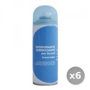 Set 6 RAMPI Deodorante Igiene Tessuti Blue 400 ml Detersivo per Lavatrice e Vestiti