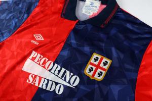 1992-93 Cagliari Maglia Home L *Nuova