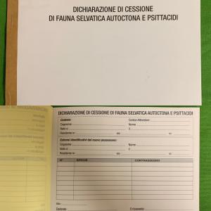 REGISTRO DI DICHIARAZIONE DI CESSIONE