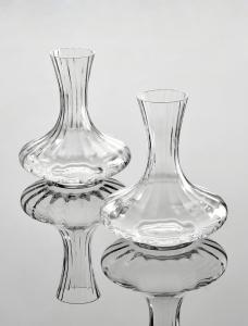 Decanter per vino da 1,5 litri con vetro ottico cm.21,5h
