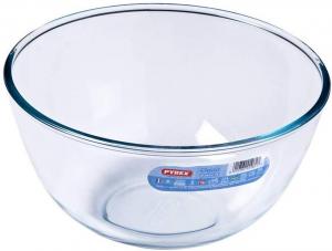 Ciotola multiuso in vetro borosilicato 3 litri cm.13h diam.24,5