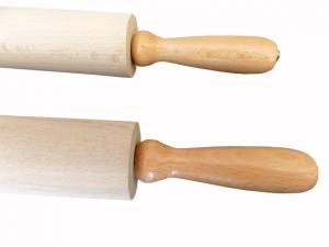 Mattarello in faggio manico girevole cm.50/60