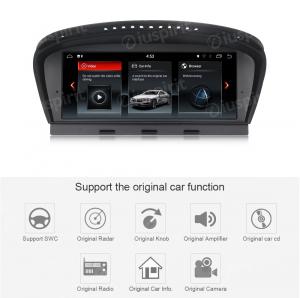 ANDROID GPS WI-FI Bluetooth MirrorLink 8.8 pollici navigatore compatibile con BMW Serie 5 E60 E61/E63/E64 2009-2010, BMW Serie 3 E90/E91/E92 2009-2012 Sistema originale CIC