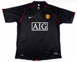 2007-08 Manchester United Maglia #7 Ronaldo XL (Top)